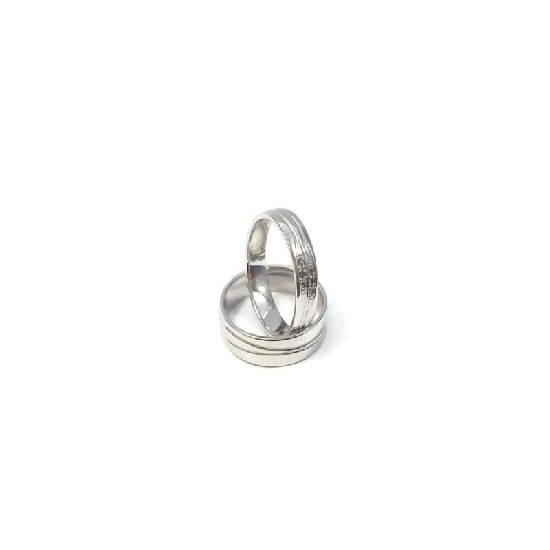 Złote Obrączki Ślubne 585 model FA10 DUŻY WYBÓR
