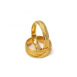 Złote Obrączki Ślubne 333 model FA01 DUŻY WYBÓR