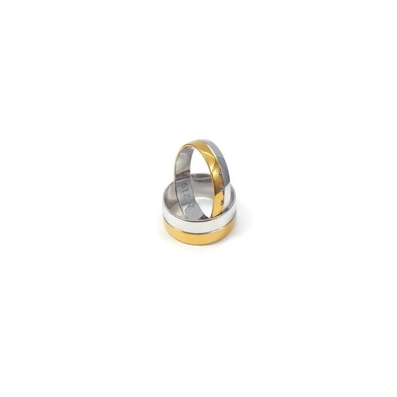 Złote Obrączki Ślubne 585 model FA03 DUŻY WYBÓR