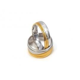 Złote Obrączki Ślubne 585 model FA12 DUŻY WYBÓR