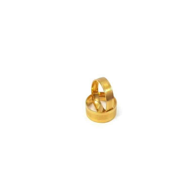 Złote Obrączki Ślubne 585 model FA13 DUŻY WYBÓR