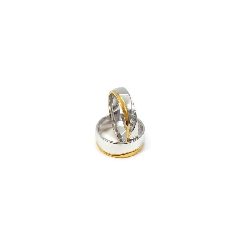 Złote Obrączki Ślubne 585 model FA20 DUŻY WYBÓR