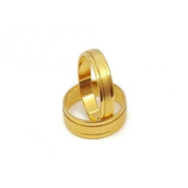 Złote Obrączki Ślubne 333 model SU10 DUŻY WYBÓR