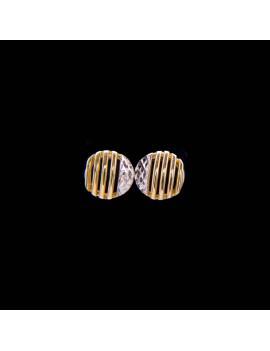 Złote Okrągłe Kolczyki Sztyfty
