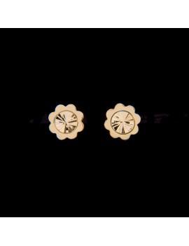 Złote Sztyfty Nacinane Kwiatki